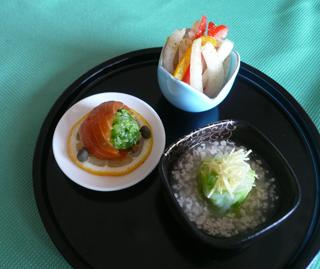 白菜のトリオプレート