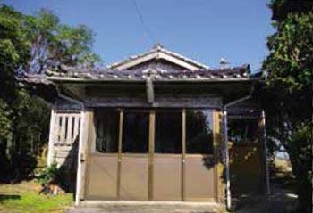 粟穂神社と本仏寺