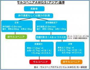 サルコペニアAWGS(アジア)基準