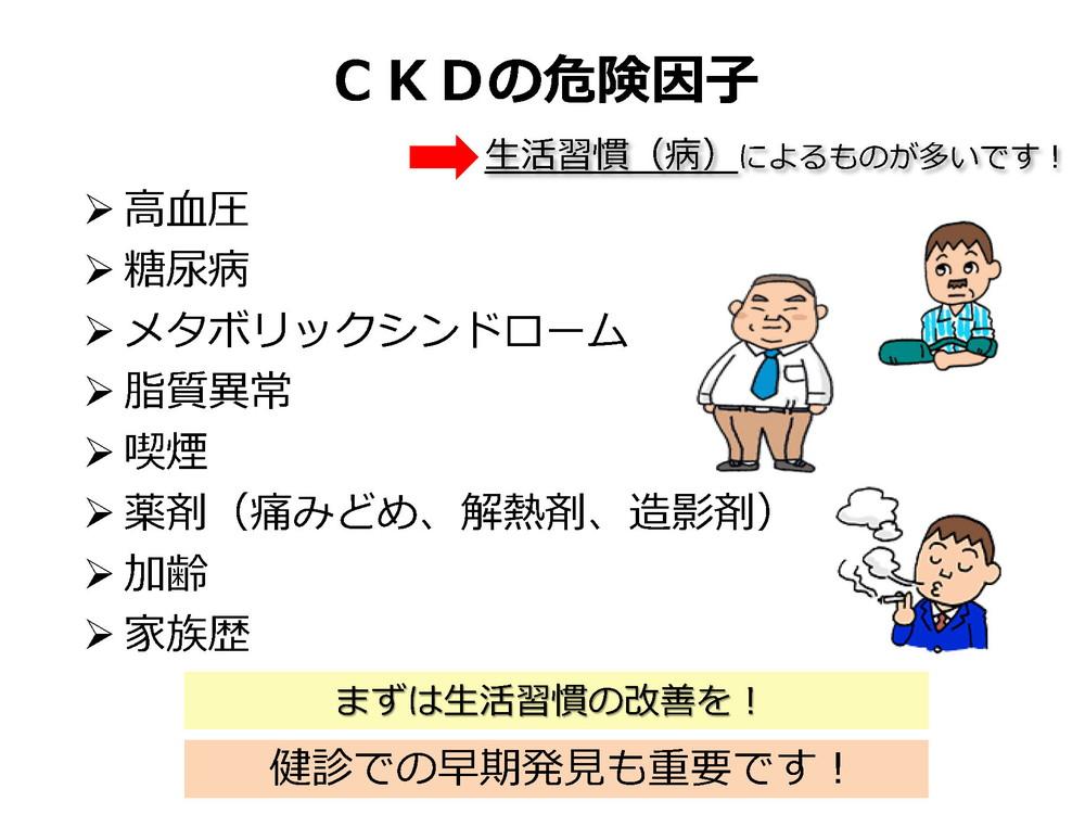 CKDの危険因子
